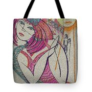 The Sun And The Girl Tote Bag
