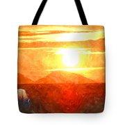 The Sun Dance Tote Bag