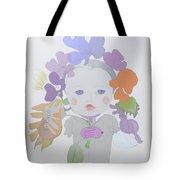 The Sun Flower Child Fairy Tote Bag