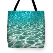 The Sun Is Reflected In Patterns Tote Bag