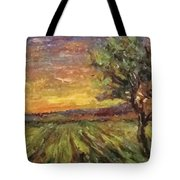 The Sun Rising / El Sol Naciente Tote Bag