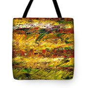 The Sun Rose One Strip At A Time 1 Tote Bag