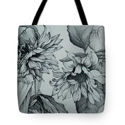 The Sunflowers Tote Bag