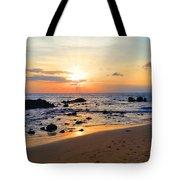 The Sunset Of Maui Tote Bag