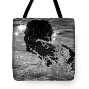 The Sunset Swim Tote Bag
