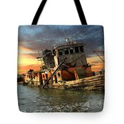 The Sunset Years Of The Mary D. Hume Tote Bag