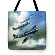 The Supermarine Spitfire Mark Ix Tote Bag