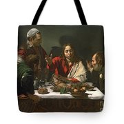 The Supper At Emmaus Tote Bag