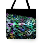 The Surface Of Color Tote Bag