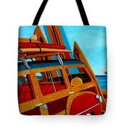 The Surfers Ride Tote Bag
