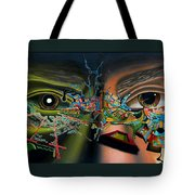 The Surreal Bridge Tote Bag