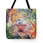 The Surreal Caturday  Tote Bag