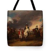 The Surrender Of Lord Cornwallis At Yorktown Tote Bag