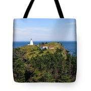 The Swallowtail Lightstation Tote Bag