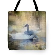 The Swans Tote Bag