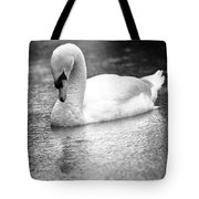 The Swans Solitude Tote Bag