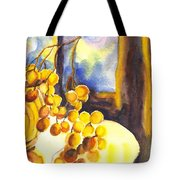 The Sweeter The Grapes Tote Bag