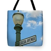 The Sweetest Street Corner In The World Tote Bag