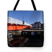 The Swing Bridge Tote Bag