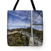 The Swinging Bridge Of Grandfather Mountain Tote Bag