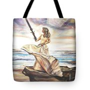 The Sword And The Bride Tote Bag