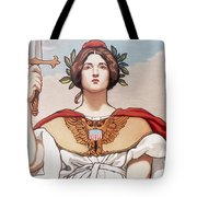 The Sword Is Drawn Tote Bag
