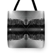 The Symmetry Of Light  Tote Bag