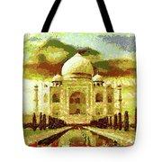The Taj Mahal Tote Bag