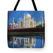 The Taj Mahal Shrine Of Beauty Tote Bag