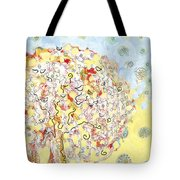 The Talking Tree Tote Bag by Jennifer Lommers