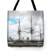 The Tall Ship Hermione - Philadelphia Pa Tote Bag