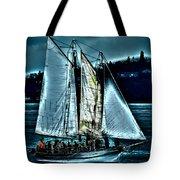 The Tall Ship Lavengro Tote Bag