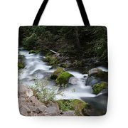 The Tananamawas Flowing Through The Forest Tote Bag
