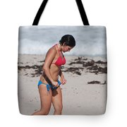 The Tattooed Ladys Peek A Boo Tote Bag