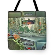 the Taxi Driver Tote Bag
