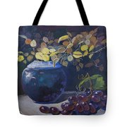 The Teal Vase Tote Bag