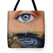 The Tear Tote Bag