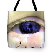The Tear Tote Bag