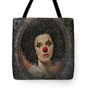 The Tearful Clown Tote Bag
