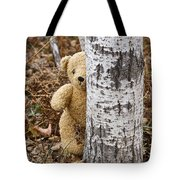 The Teddy Bear In The Woods Tote Bag