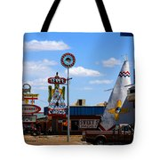 The Tee-pee Curios On Route 66 Nm Tote Bag