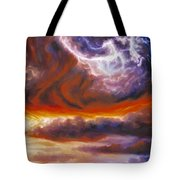 The Tempest Tote Bag by James Christopher Hill