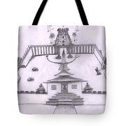 The Temple Of Religions Tote Bag