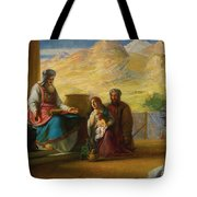 The Temple Of The Jews Tote Bag