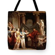 The Temple Of The Liberal Arts With The City Of Bern And Minerva Tote Bag