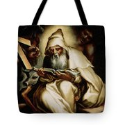 The Temptation Of Saint Anthony Tote Bag