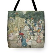 The Terrace Bridge, Central Park Tote Bag