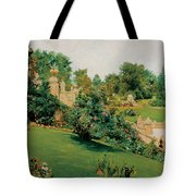 The Terrace Central Park New York Tote Bag