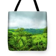 The Terrain Of Costa Rica  Tote Bag