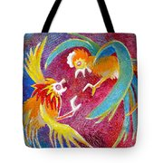 The Territorial Fight Tote Bag